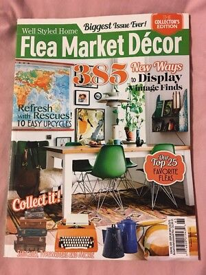 Flea Market Decor Magazine June July 2015 Collector's Edition Glamper Revamp