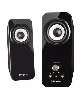 Creative Inspire T12 2.0 Multimedia Speaker System with Bass - New Open Box