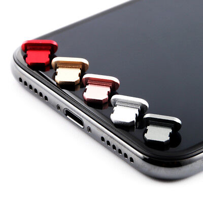 Charging Port Anti Dust Plug Dustproof Protector Cap Stopper Cover for IPhone