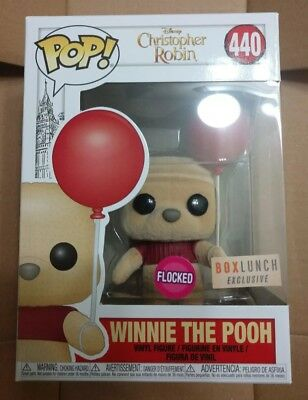 Funko Pop! Disney Christopher Robin BoxLunch Exclusive - Flocked Winnie The Pooh