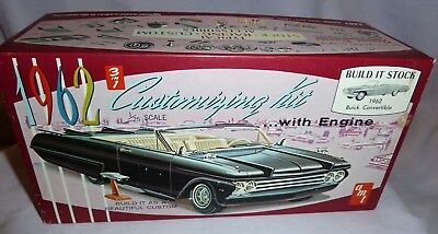 Amt - 1962  Buick Electra 3 In 1 Customizing Kit - Box With Parts/ Instructions
