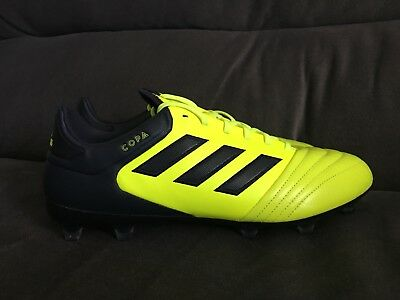 630dce10614 Adidas Copa 17.2 FG Soccer Cleats Solar Yellow Legend Ink S77137 Mens Size  11