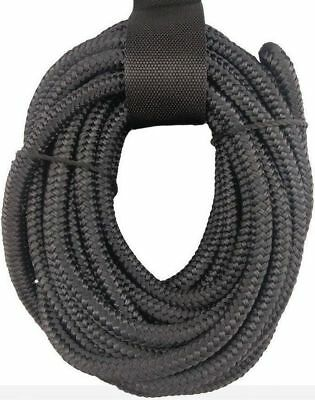 10mm x 6m Boat Dock Rope | Extra Strong Nylon Double Braid Mooring Line Yacht S
