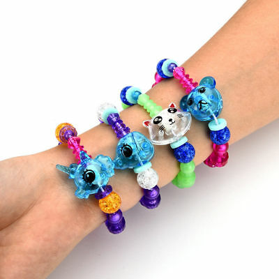 Cute DIY Animal Elasticity  Magic Tricks Kids Toys Gifts Mascot Bracelets