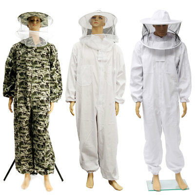 Beekeepers Bee Suit keeping Protective ventilated Veil Hat jacket Veil L-XXXL