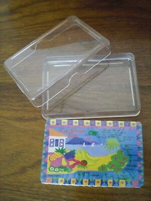 Caribbean Sea Map of Islands SOUVENIR Playing Cards, New sealed in plastic case