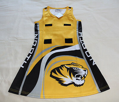 Emu Sportswear North Gambier Tigers Girls Netball Dress Size 12 New