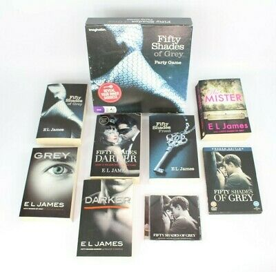 ~~50 Shades Of Grey Darker Freed E L James 4X Books Set Trilogy + Grey~~