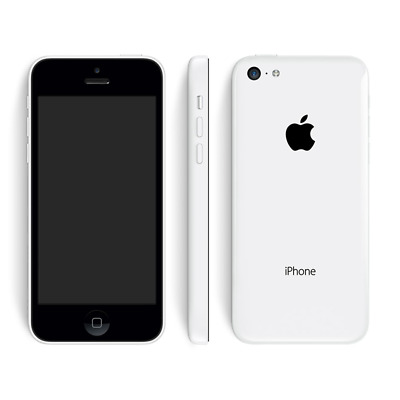 Apple Iphone 5C 8GB 4-inch 4G LTE Mobile Phone Wi-Fi Unlocked White