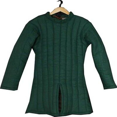 Beautiful Medieval Gambeson thick padded coat Aketon Jacket Armor Halloween Gift