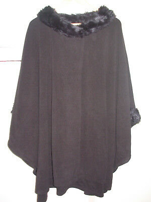 846be6c42 MURAL BLACK CAPE Poncho Fancy - $10.00 | PicClick