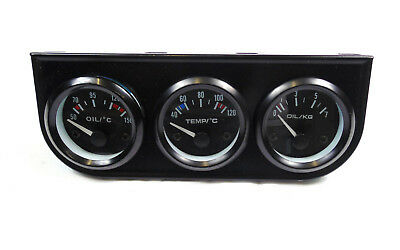 52mm Oil Pressure Oil Temperature Water Temp Gauges Package with Pod