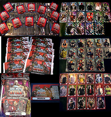 Topps HERO ATTAX Cinematic Universe-Civil War-Sammelkarten Trading Cards Marvel