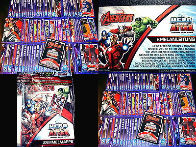 Topps Marvel HERO ATTAX-The Avengers: Age of Ultron - Sammelkarten Trading Cards