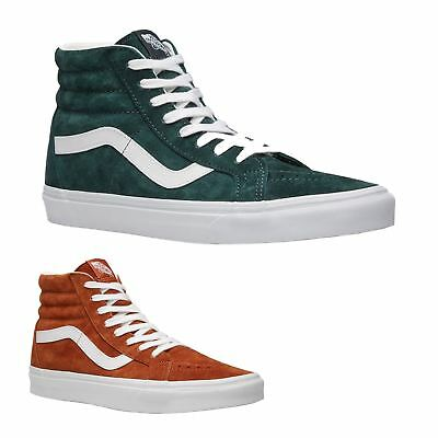 7a53685f86b VANS SK8-HI PLATFORM 2 Suede Canvas Mens Womens High-top Unisex ...