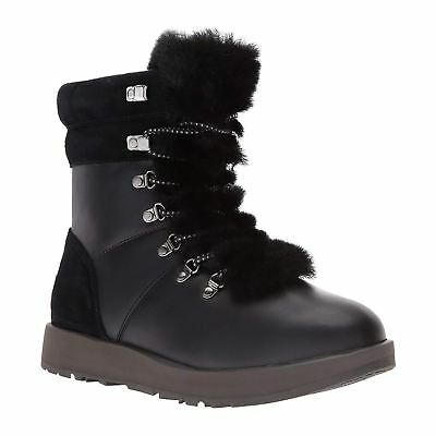 7869bf4d178 UGG AUSTRALIA VIKI Waterproof Leather Ankle Winter Hiking Womens Boots