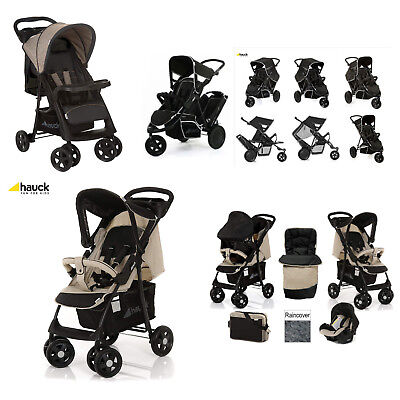 Range Of Hauck Strollers Freerider Shopper Travel System 0+ Months 3 In 1