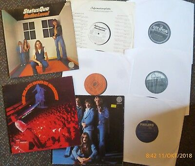 Rare LP Sammlung Status Quo Beach Boys Live Jimmy and The Rackets Stones Oldies