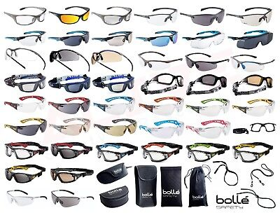 Bolle Safety Glasses Spectacles BOLLE Eye Protection Accessories - Various Types