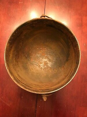 Size 6 Cast Iron Kettle Peyote Water Drum