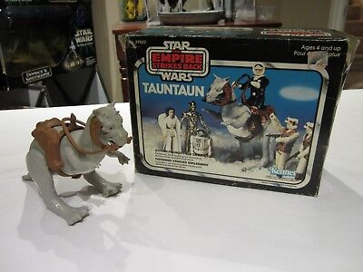 1979 Star Wars Empire Strikes Back - Vintage Taun Taun with Canadian Box