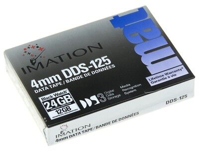Tape Imation 4Mm Dds-125 12/24 Gb Dds3 Data Cartridge