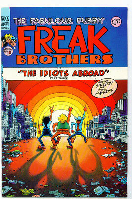 |•.•| FABULOUS FURRY FREAK BROTHERS (UK) • Issue #10 • £1.75 Cover • The Idiots