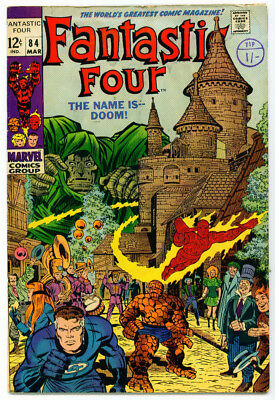 |•.•| FANTASTIC FOUR (VOL.1) • Issue #84 • Marvel