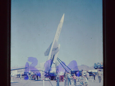 Original Slide,US Air Force Jet Rocket Aircraft 35MM S-15 1968 Nellis AFB
