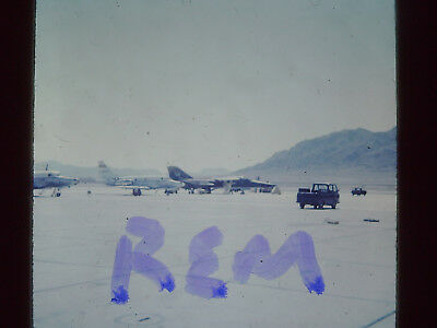 Original Slide,US Air Force Jet Aircraft 35MM S-16 1968 Nellis AFB
