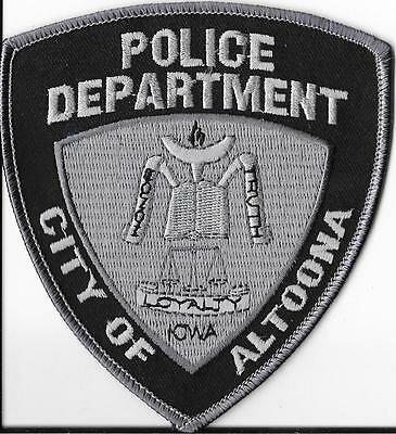 Altoona Police Department, Iowa Subdued Shoulder Patch