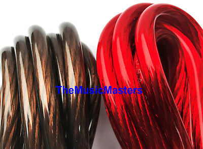 8 Gauge 20' ft each Red Black Auto PRIMARY WIRE 12V Auto Wiring Car Power Cable