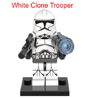 Mini Figurine NEW Fits  Star Wars Clone Trooper
