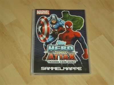 Hero Attax Marvel Karten Album Sammelmappe 1-208 komplett