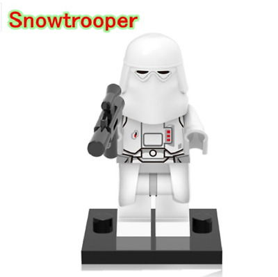 Mini Figurine NEW Fits  Star Wars Snowtrooper