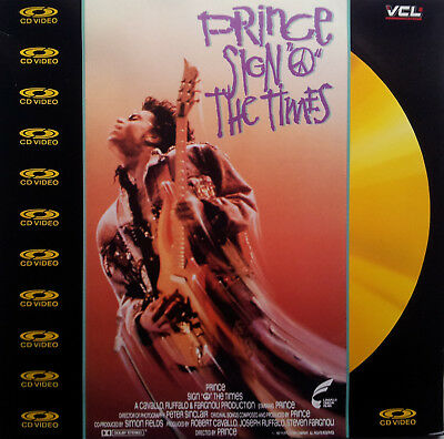 Musik Laserdisc   ♫ PRINCE - SIGN THE TIMES ♫  Pal