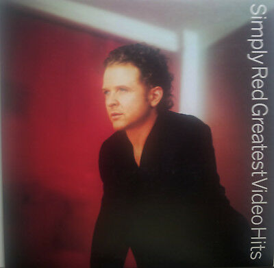 Musik Laserdisc   ♫ SIMPLY RED - GREATEST VIDEO HITS ♫  Pal