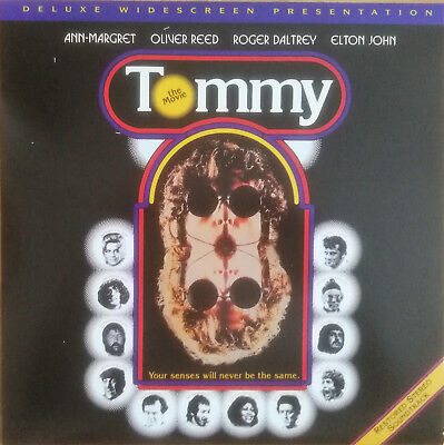 Musik Laserdisc   ♫ TOMMY - THE MOVIE ♫  US DISC