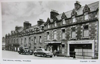 Classic Car & Rolls Royce At The Royal Hotel Thurso Caithness Early Rp Pc