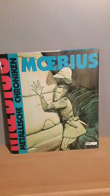 Moebius Metallische Chroniken / Comic-Album Hardcover Giraud