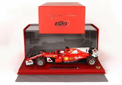BBR High End Ferrari SF70H GP Monaco 2017 Sieger Vettel Leder Basis 1875MW1