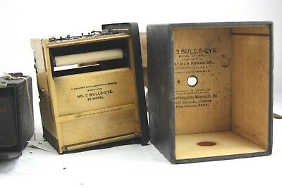 LOT: Eastman Kodak No.1 Brownie Model B & No.2 BULLS-EYE 1896 model