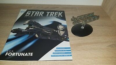Star Trek Eaglemoss 49,E.C.S. Fortunate,Raumschiffsammlung,deutsch