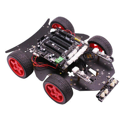 Yahboom 4WD Smart Robot Car DIY Kit Bluetooth For Arduino UNO Raspberry Pi