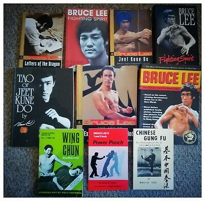 Collection Of BRUCE LEE Books Job Lot