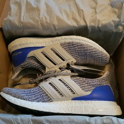 ... discount adidas ultra boost 4.0 chalk pearl royal blue white carbon  size 9 cp9249 new 72a52 6fa00b31c6