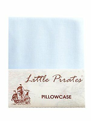 Brand New Baby Blue Cot Bed Pillow Case 60 x 40 - 100 Luxury Brushed Cotton