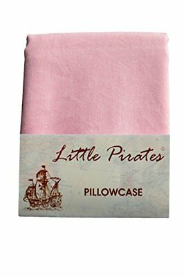 Brand New Pink Baby Cot Bed Pillow Case 60 x 40 - 100 Cotton