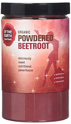 Of The Earth 250 g Organic Beetroot Powder