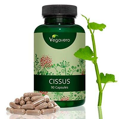 Cissus Quadrangularis by Vegavero  650 mg Per Capsule  High-strength Extract
